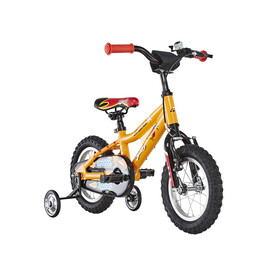 Ghost Powerkid AL 12 Childrens Bike yellow/orange